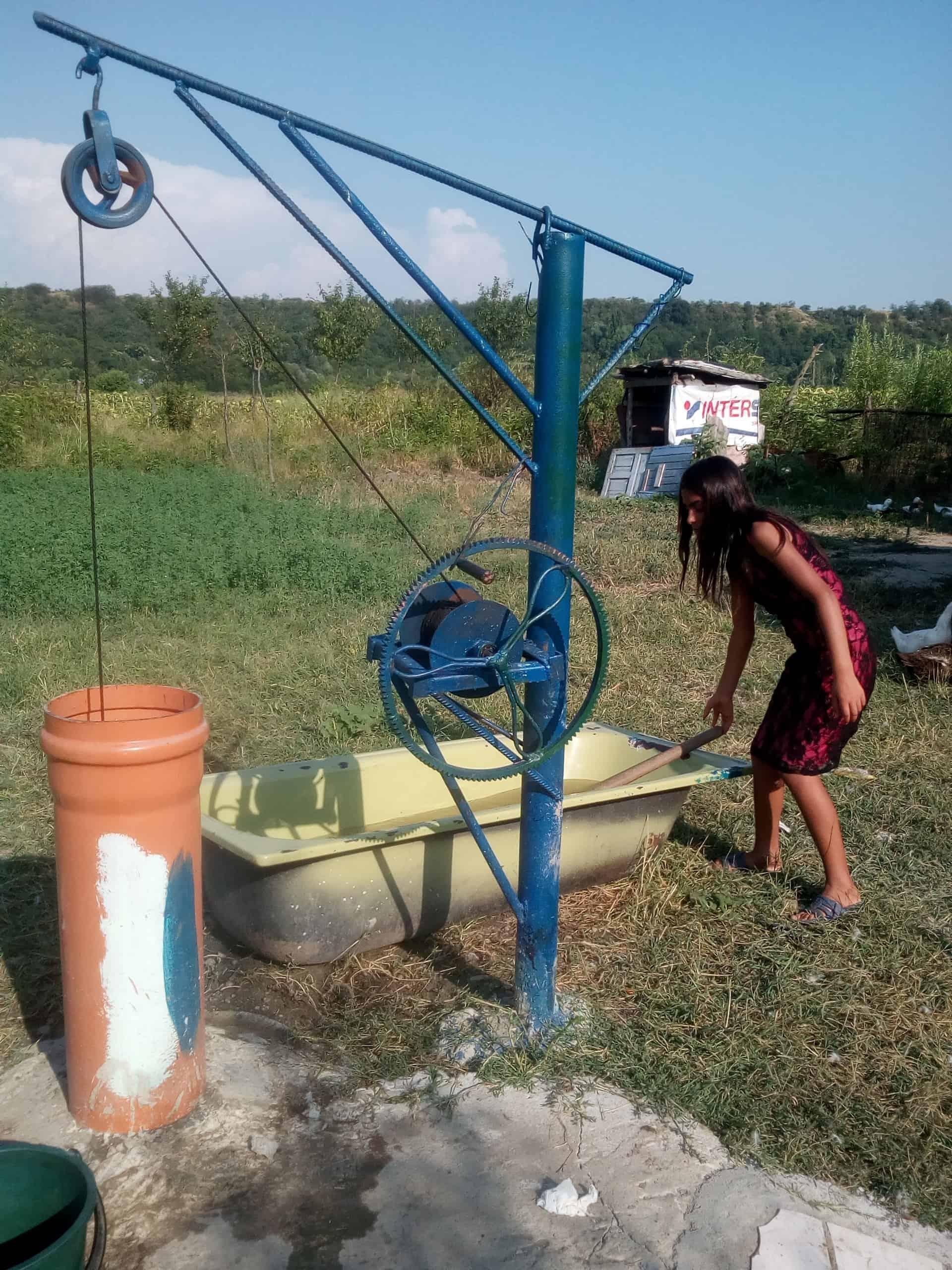 Brunnen statt Wasserleitung